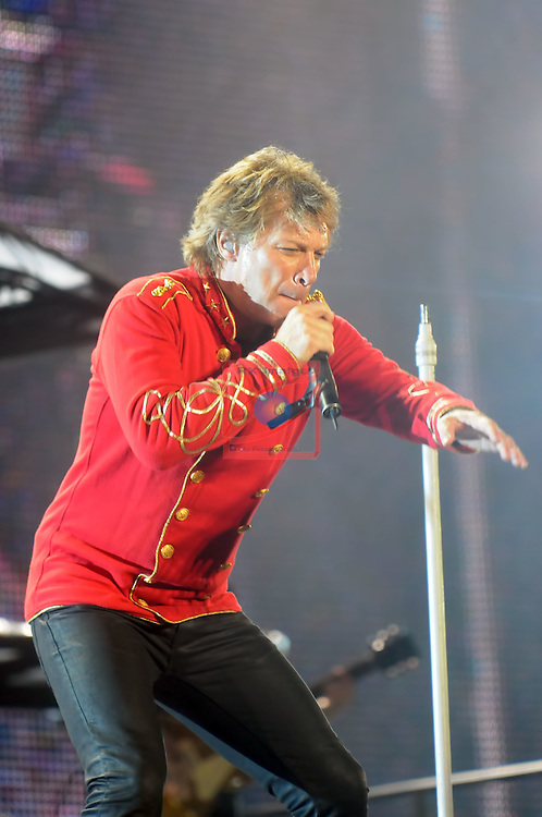 Bon Jovi concert at the Olympic Stadium Lluis Companys.