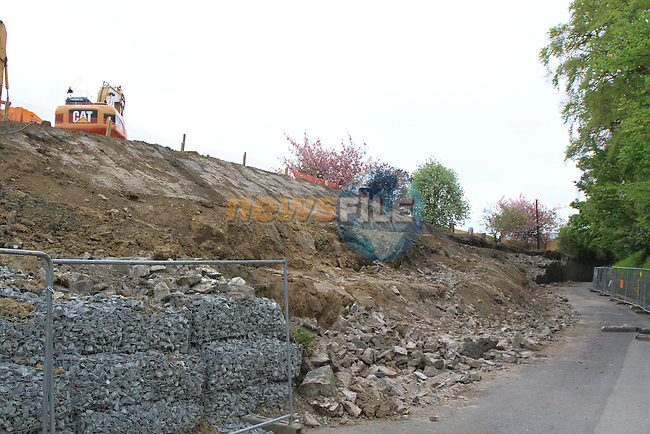 Work being carried out on poor house lane..Picture: Fran Caffrey / www.newsfile.ie.