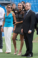 Real Madrid Football Club President, Florentino Perez and Adriana Pozueco