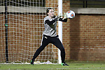 WINSTON-SALEM, NC - NOVEMBER 10: Wake Forest's Lindsay Preston. The Wake Forest University Demon Deacons hosted the Georgetown University Hoyas on November 10, 2017 at W. Dennie Spry Soccer Stadium in Winston-Salem, NC in an NCAA Division I Women's Soccer Tournament First Round game. Wake Forest advanced 2-1 on penalty kicks after the game ended in a 0-0 tie after overtime.