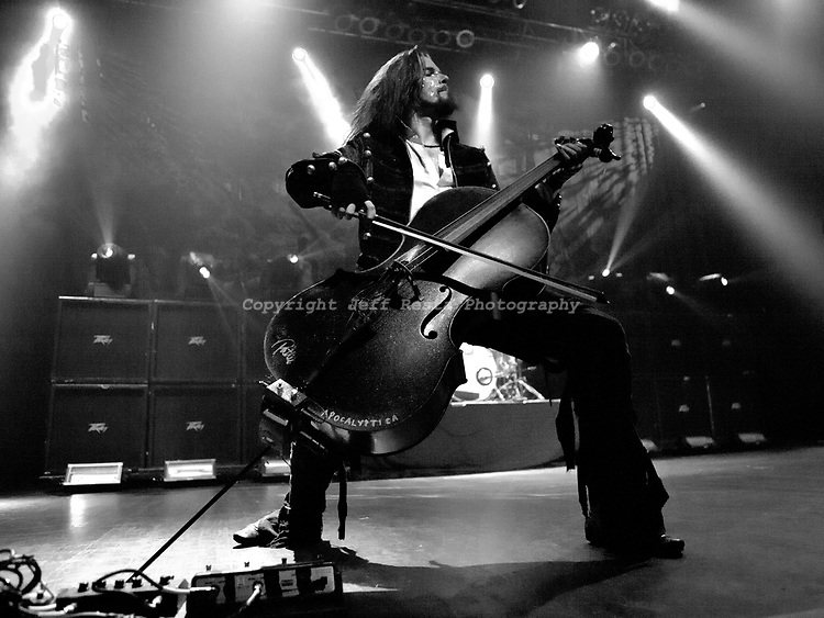 Apocalyptica live in concert at House of Blues on March 27, 2011 in Dallas, TX.