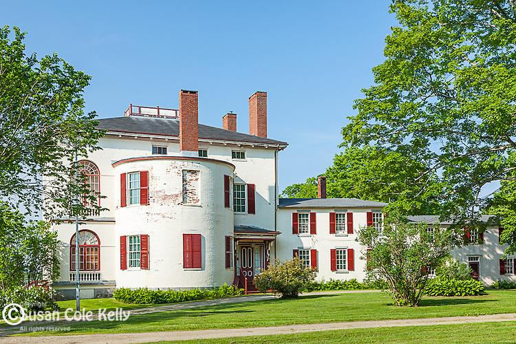 Castle Tucker in Wiscassett, Maine, USA
