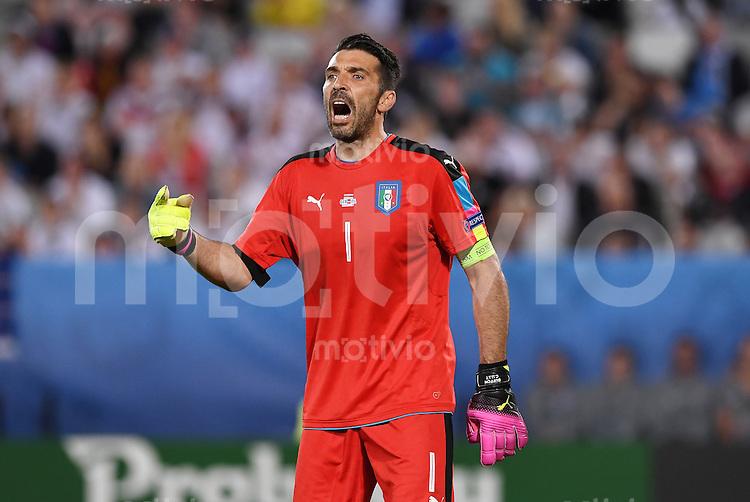 FUSSBALL EURO 2016 Viertelfinale in Bordeaux Deutschland - Italien      02.07.2016 Torwart Gianluigi Buffon (Italien)