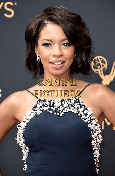 LOS ANGELES, CA - SEPTEMBER 18: Angel Parker arrives at the 68th Emmy Awards at the Microsoft Theater on Sunday, September 18, 2016, in Los Angeles, California. <br /> CAP/MPI99<br /> &copy;MPI99/Capital Pictures