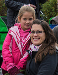 5-year old Lillian Marler from Carson City during the Nevada Day Parade on Saturday, October 29, 2016.