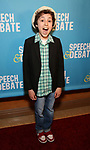 Anthony Rosenthal attends Broadway Red Carpet Premiere of 'Speech & Debate'  at the American Airlines Theatre on April 2, 2017 in New York City.