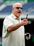 6 June 2010: Washington Nationals' General Manager Mike Rizzo displays a cigar as he talks to the media prior to a game against the Cincinnati Reds at Nationals Park in Washington, DC. The Reds edged out the Nationals 5-4 in a ten inning game. Mandatory Credit: Ed Wolfstein Photo