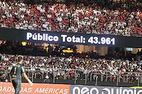 SÃO PAULO, SP, 18.02.2017 -SÃO PAULO - MIRASOL Lance de partida entre Sao Paulo e Mirasol válido pela quarta rodada do Campeonato Paulista 2017 no estádio Cicero Pompeu de Toledo, em São Paulo, neste sábado, 18. (Foto: Carlos Pessuto/Brazil Photo Press)