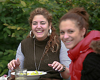 Students socialising, University of Surrey.
