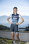 The London Rouleur Classic event provided the venue for today's unveiling of the new Trek-Segafredo men's and women's kits for the upcoming 2019 racing season. Lizzie Deignan (GBR) models the women's kit. 2nd November 2018.<br /> Picture: Trek Factory Racing | Cyclefile<br /> <br /> <br /> All photos usage must carry mandatory copyright credit (© Cyclefile | Trek Factory Racing)