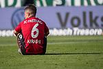 13.04.2019, Weser Stadion, Bremen, GER, 1.FBL, Werder Bremen vs SC Freiburg, <br /> <br /> DFL REGULATIONS PROHIBIT ANY USE OF PHOTOGRAPHS AS IMAGE SEQUENCES AND/OR QUASI-VIDEO.<br /> <br />  im Bild<br /> <br /> Amir Abrashi (SC Freiburg #6)<br /> entt&auml;uscht / enttaeuscht / traurig / Niederlage<br /> <br /> Foto &copy; nordphoto / Kokenge