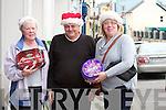 Shopping in Cahersiveen were l-r; Eileen Shanahan, P.J.O'Donovan & Niamh Quinlan.