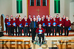 Concert at St James Church Glenbeigh on Friday night featuring Glenbeigh Mens shed choir, O Happy Days choir, and others, in aid of parish funds