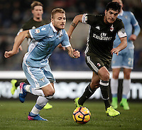 Calcio, Serie A: Lazio, Stadio Olimpico, 13 febbraio 2017.<br />