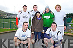 Taking part in the OTW Rowing Clubs 7 a-side soccer blitz on St Stephens at the Cahersiveen Sports Centre were Team O'Learys, pictured front l-r; Joe Moore, Lidia Salagar, Kevin Moore, back l-r; John Paul Moore, John Burke, Maurice Murphy & Richard Burke.