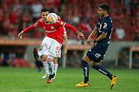 11th February 2020; Beira-Rio Stadium, Porto Alegre, Brazil; Libertadores Cup, Internacional versus Universidad de Chile; Victor Cuesta of Internacional crosses into the box