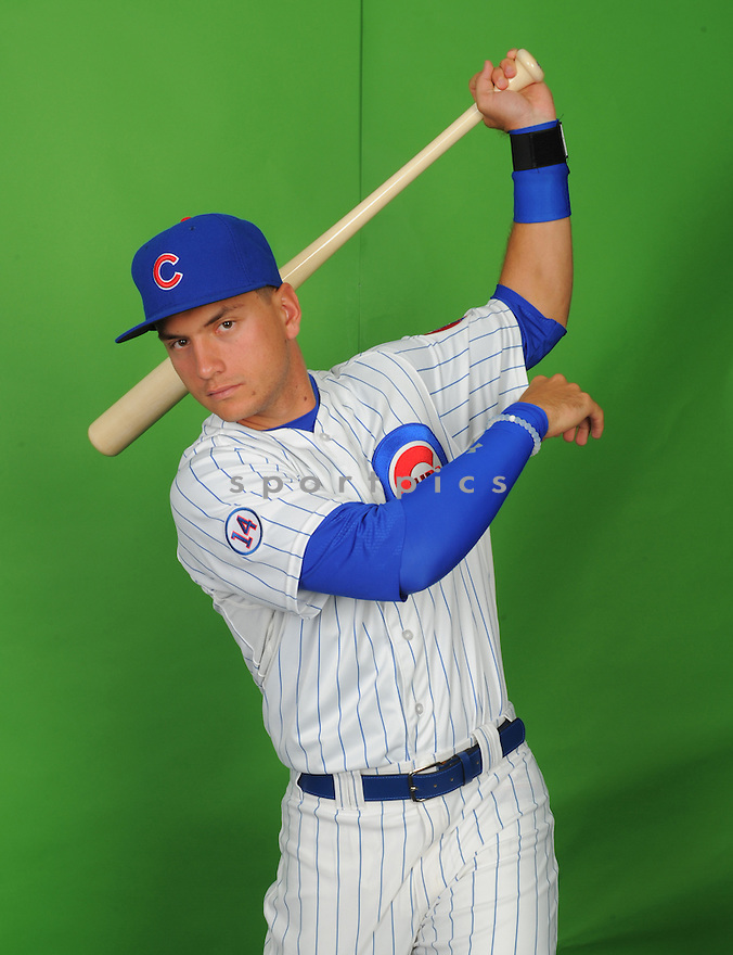 Chicago Cubs Albert Almora (78) during photo day on March 2, 2015 in Mesa, AZ.