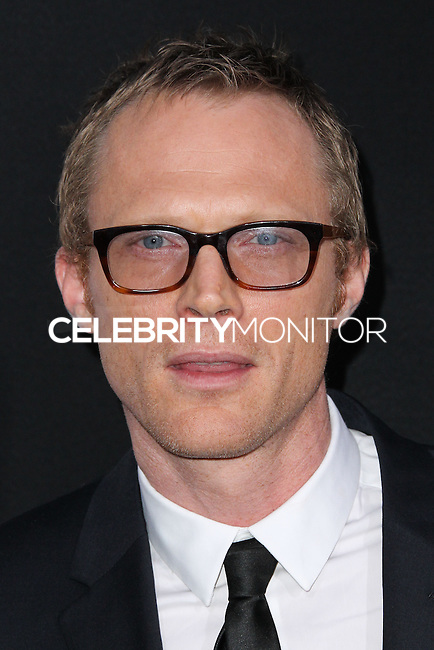 """WESTWOOD, LOS ANGELES, CA, USA - APRIL 10: Paul Bettany at the Los Angeles Premiere Of Warner Bros. Pictures And Alcon Entertainment's """"Transcendence"""" held at Regency Village Theatre on April 10, 2014 in Westwood, Los Angeles, California, United States. (Photo by Xavier Collin/Celebrity Monitor)"""