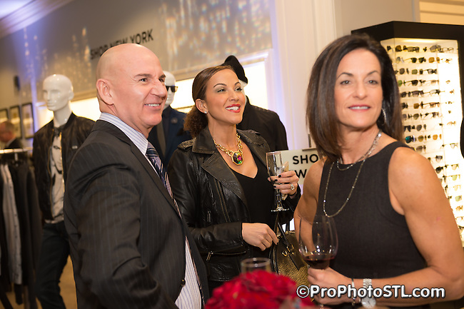 "Eric Jennings Midnight in London PA ""Shop New York"" trunk show event at Saks Fifth Avenue in Frontenac, St, Louis, MO on Oct 22, 2014."