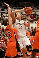 STANFORD, CA - FEBRUARY 20:  Jayne Appel of the Stanford Cardinal during Stanford's 82-48 win over Oregon State on February 20, 2010 at Maples Pavilion in Stanford, California.