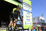 Chris Juul Jensen (IRL/DEN) Mitchelton-Scott at sign on before the 2019 E3 Harelbeke Binck Bank Classic 2019 running 203.9km from Harelbeke to Harelbeke, Belgium. 29th March 2019.<br /> Picture: Eoin Clarke | Cyclefile<br /> <br /> All photos usage must carry mandatory copyright credit (© Cyclefile | Eoin Clarke)