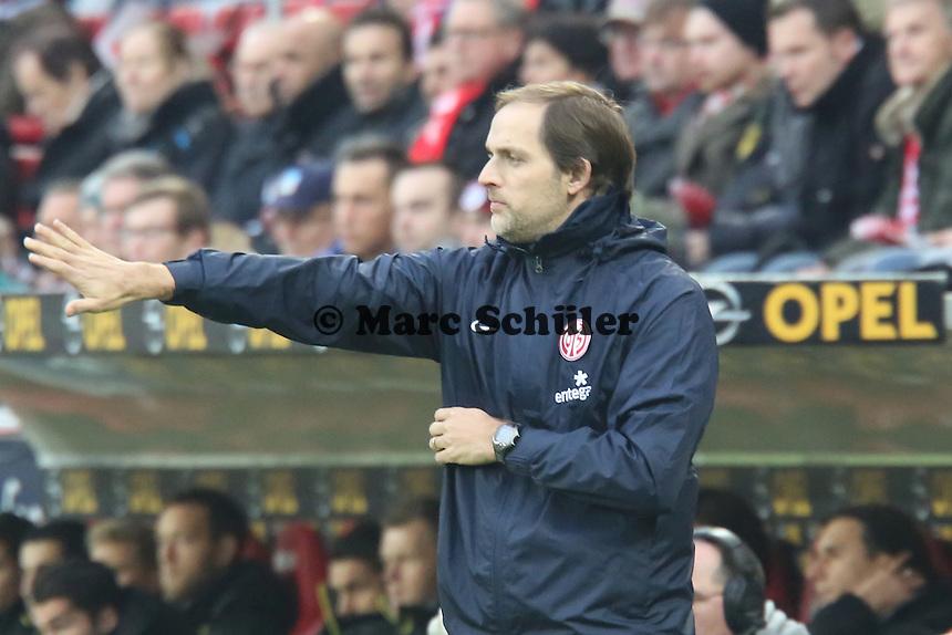 Trainer Thomas Tuchel (Mainz) - 1. FSV Mainz 05 vs. Borussia Dortmund, Coface Arena, 14. Spieltag