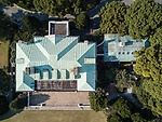 Drone View Of Hazelwood's Roof.