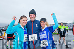 Stephanie Nix, Martin Nix and Melissa Nix at the Kerins O'Rahilly's '1916' 10k Run on Sunday