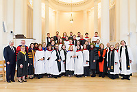 Group Photo. Conferral of Certificates and the Awarding of Prizes Commencement Evensong at the Berkeley Divinity School at Yale 19 May 2018