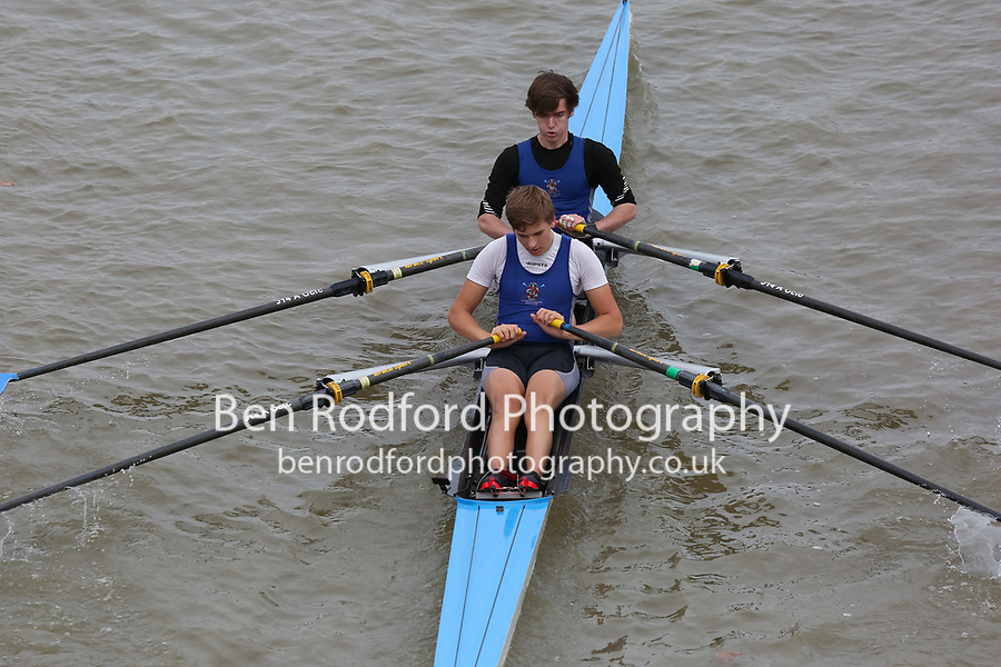 Crew: 163   DUL-WOLFF    Dulwich College Boat Club    Op J18 2x Fresher <br /> <br /> Pairs Head 2017<br /> <br /> To purchase this photo, or to see pricing information for Prints and Downloads, click the blue 'Add to Cart' button at the top-right of the page.