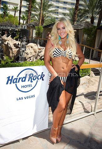 Lacey Schwimmer hosts at REVEL pool party at Hard Rock Beach Club, also home to the famous Sunday Party known as REHAB, at Hard Rock Hotel & Casino in Las Vegas, NV on August 6, 2011. . © Erik Kabik / MediaPunch.***HOUSE COVERAGE - Caption must include venue information***