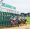 Minnie Punt winning at Delaware Park on 6/23/15