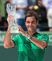 ROGER FEDERER (SUI)<br /> <br /> MIAMI OPEN, CRANDON PARK, KEY BISCAYNE, FLORIDA, USA<br /> <br /> &copy; TENNIS PHOTO NETWORK