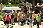 Portland Farmer's Market Information Booth