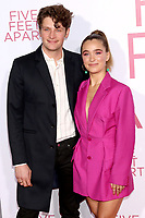 """LOS ANGELES - MAR 7:  Brett Dier, Haley Lu Richardson at the """"Five Feet Apart"""" Premiere at the Bruin Theater on March 7, 2019 in Westwood, CA"""