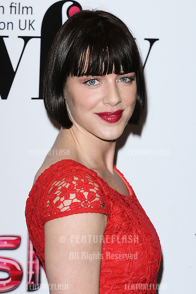 Michelle Ryan arriving for the Women in Film and Tv Awards 2012 at the Park Lane Hilton, London. 07/12/2012 Picture by: Steve Vas / Featureflash