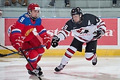 Bonnyville, AB - Dec 12 2018 - Canada West vs. Russia during the 2018 World Junior A Challenge at the R.J. Lalonde Arena in Bonnyville, Alberta, Canada (Photo: Matthew Murnaghan/Hockey Canada)