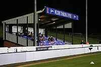 The main stand ahead of Maldon & Tiptree vs Newport County, Emirates FA Cup Football at the Wallace Binder Ground on 29th November 2019