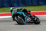Franco Morbidelli (21) in action before the Red Bull Grand Prix of the Americas race at the Circuit of the Americas racetrack in Austin,Texas.