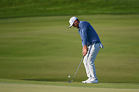 Brooks Koepka (USA) chips on to 11 during round 2 of the Arnold Palmer Invitational at Bay Hill Golf Club, Bay Hill, Florida. 3/8/2019.<br /> Picture: Golffile | Ken Murray<br /> <br /> <br /> All photo usage must carry mandatory copyright credit (&copy; Golffile | Ken Murray)