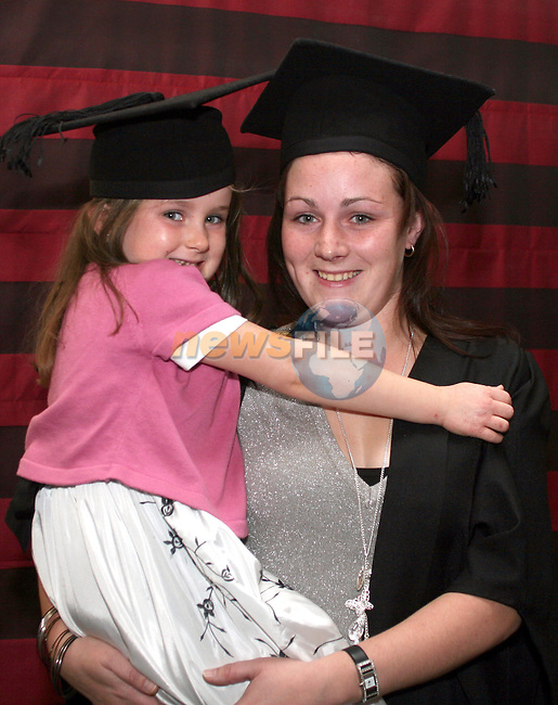 Kacci and Fiona O'Rourke at the presentation of FETAC Certificates to ESLO Students in the Westcourt...Photo NEWSFILE/Jenny Matthews.(Photo credit should read Jenny Matthews/NEWSFILE)....This Picture has been sent you under the condtions enclosed by:.Newsfile Ltd..The Studio,.Millmount Abbey,.Drogheda,.Co Meath..Ireland..Tel: +353(0)41-9871240.Fax: +353(0)41-9871260.GSM: +353(0)86-2500958.email: pictures@newsfile.ie.www.newsfile.ie.FTP: 193.120.102.198.