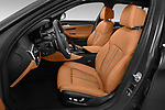 Front seat view of 2021 BMW 5-Series Luxury 5 Door Wagon Front Seat  car photos