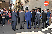 26.06.2012 Barcelona, SPAIN Funeral Miki Roque