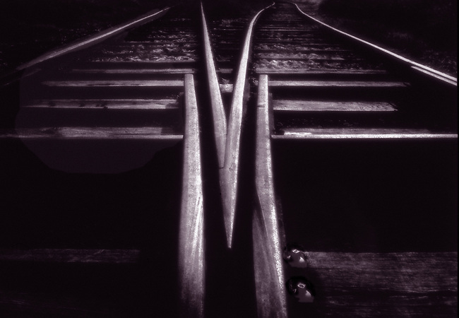 Voies ferrees. *** Railway tracks.