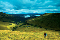 Loch Lomond and Glen Luss from Beinn Eich, the Luss Hills, Loch Lomond and the Trossachs National Park