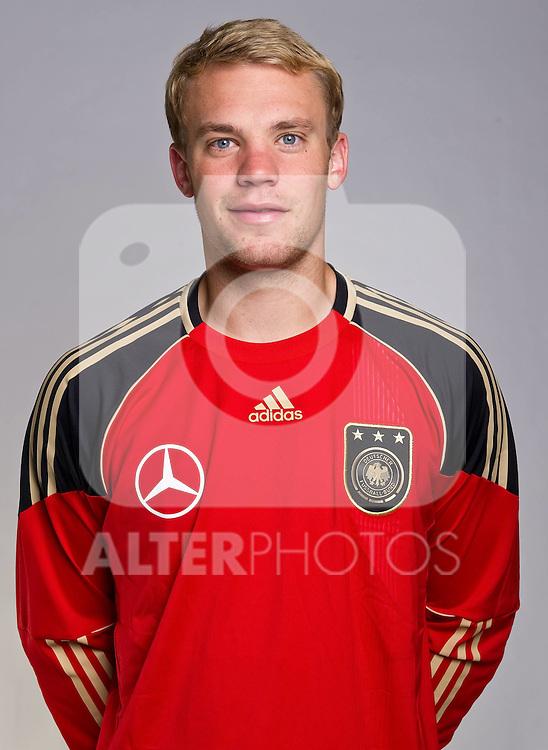02.06.2010, Commerzbank-Arena, Frankfurt, GER, FIFA Worldcup, Spielerportraits, im Bild Manuel Neuer ( FC Schalke 04 #01 )  Foto © nph / Kokenge
