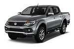 2017 Fiat Fullback Sport Pack 4 Door Pick Up angular front stock photos of front three quarter view
