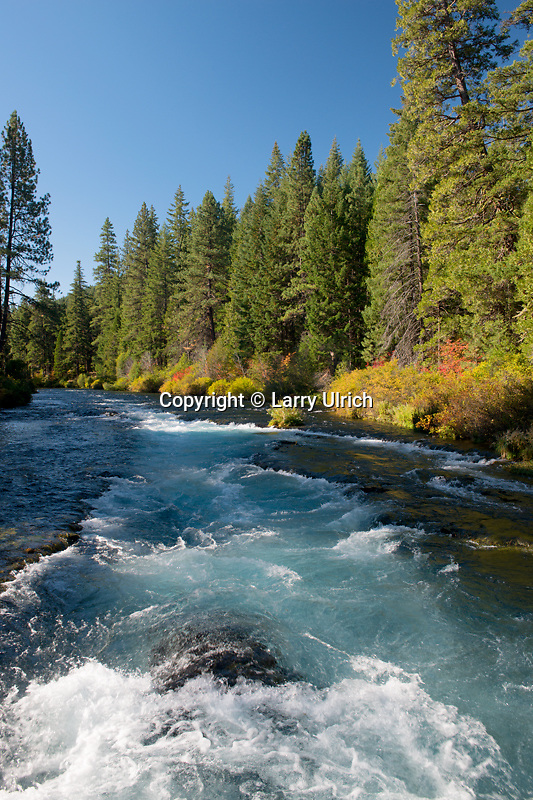 Wizard Falls on the  Metolius River<br />