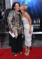"11 April 2019 - Westwood, California - Meagan Good. ""Breakthrough"" Los Angeles Premiere held at Regency Village Theater. Photo Credit: Birdie Thompson/AdMedia"