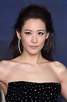 "Claudia Kim<br /> arriving for the ""Fantastic Beasts: The Crimes of Grindelwald"" premiere, Leicester Square, London<br /> <br /> ©Ash Knotek  D3459  13/11/2018"